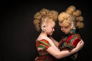 High Fashion Afro Art Shows Portraits Of Girls Rocking