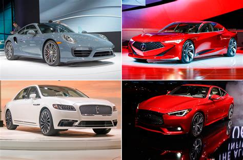 The Luxury Cars Of The 2016 Detroit Auto Show  Motor Trend