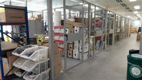 security cages  warehouse