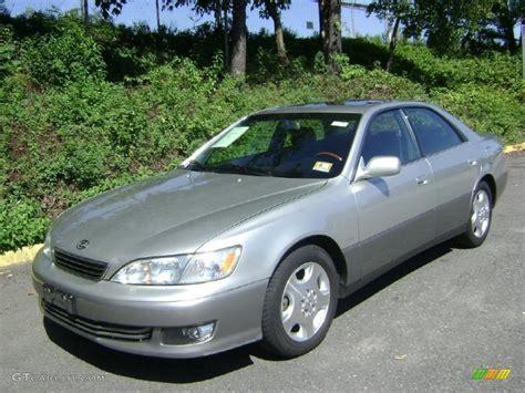 lexus sedan 2000 2000 millennium silver metallic lexus es 300 sedan