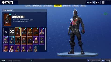 buy fortnite epic gear black knight