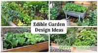 excellent edible garden design Edible Garden Design Ideas to Boost Production and Beautify your Space