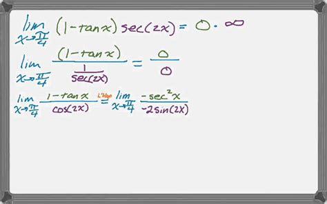 L'hopital's Rule (zero Times Infinity) Youtube