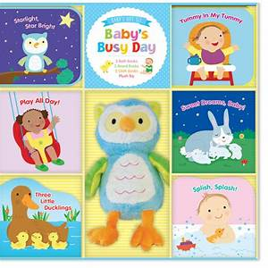 Kids Book - Baby's Busy Day Baby Gift Set - BabyOnline