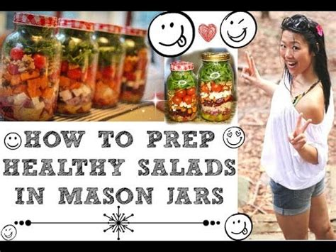 Ultimate Guide To Salad Prepping In Mason Jars (how To