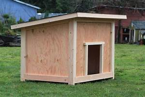 Shed plans large easiest size shed to build large for Cost to build a dog house