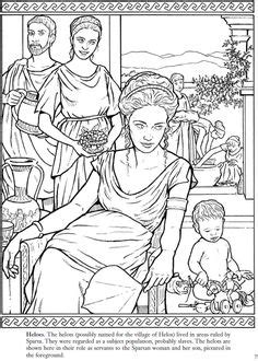 coloring pageslineart ancient greek city states