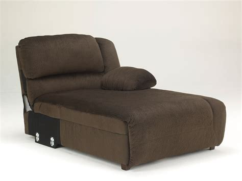 chaise microfibre avery 6pcs brown microfiber recliner sofa chaise