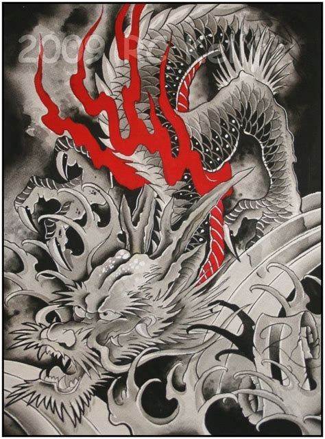 images  ink  pinterest dragon art chinese dragon  tiger tattoo