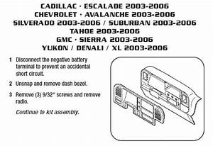 2004 Chevrolet Tahoe Wiring Diagram