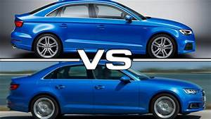 Audi A3 Berline 2017 : 2017 audi a3 sedan vs audi a4 youtube ~ Medecine-chirurgie-esthetiques.com Avis de Voitures