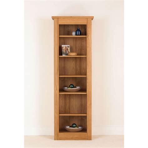 Solid Oak Bookcase by Quercus Solid Oak Bookcase 78 26 12 Con Tempo Furniture