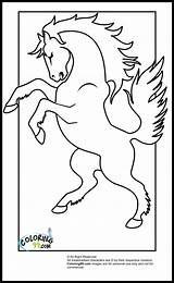 Horse Coloring Pages Jumping Printable Piggy Bank Colors Team Colorings Dressage Getdrawings Popular sketch template