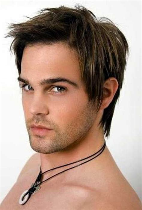 medium length hairstyles mens 2014