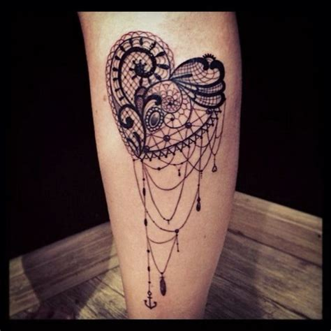 30+ Lace Tattoo Designs For Women  For Creative Juice