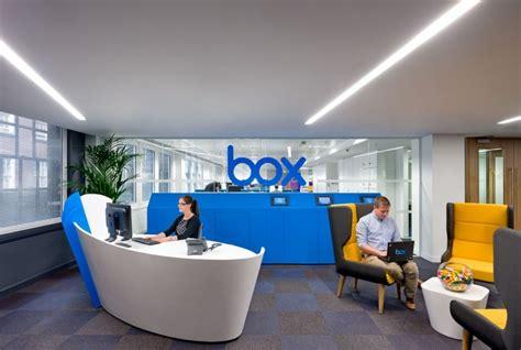 deco bureau design les bureaux londoniens de box le concurrent de dropbox