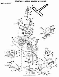 29 Craftsman Mower Model 917 Diagram