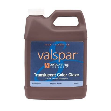 valspar translucent color glaze shop valspar signature colors quart size container