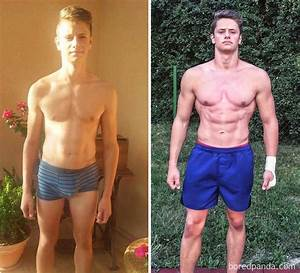 10  Unbelievable Before  U0026 After Fitness Transformations Show How Long It Took People To Get In