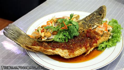 fried fish deep three special ramadhan sauce flavour food