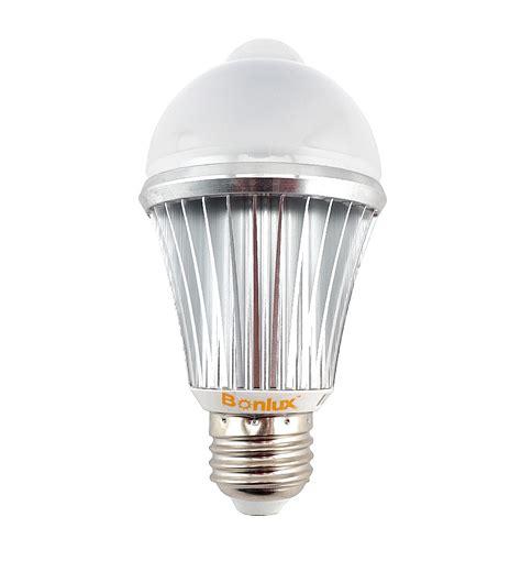 pir motion sensor led light bulb 7w e26 e27 human motion