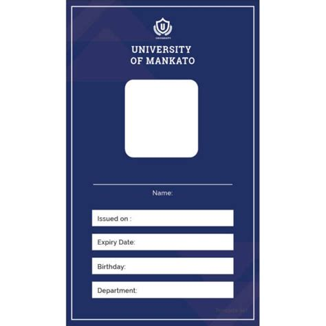 id card template 17 id card templates free psd documents free