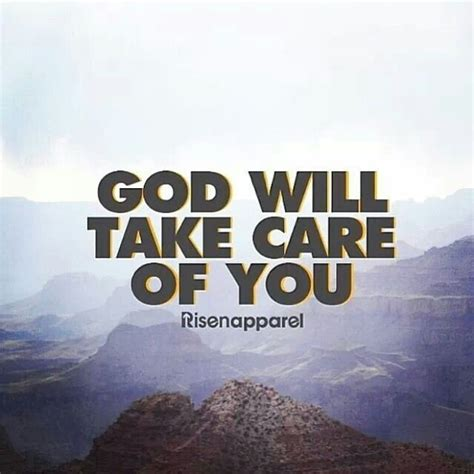 God Will Take Care