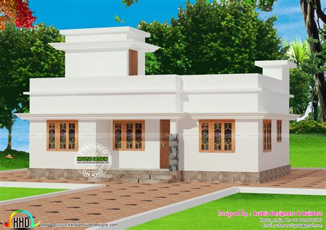 6 Lakh Home Design :  Rs.10 Lakh Kerala House Plan