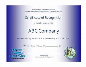 7 recognition certificate template bookletemplateorg With employee recognition awards templates