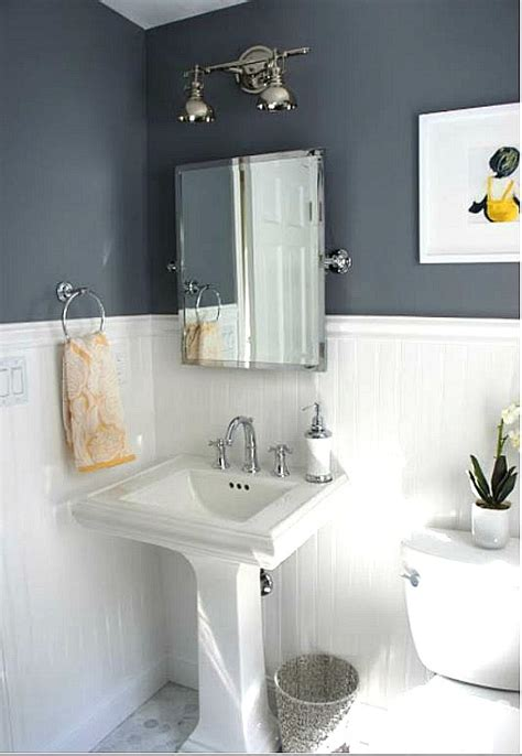 Before & After Updating A Halfbath & Laundry Room