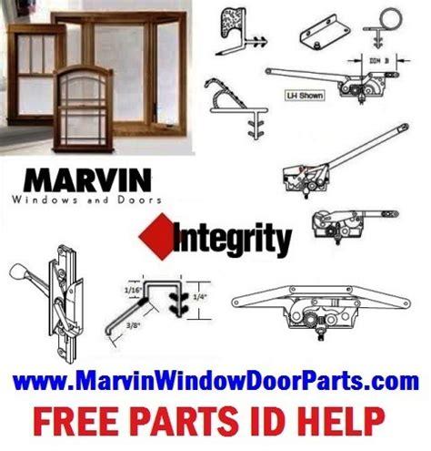 marvin integrity casement window parts window door replacement hardware california truth