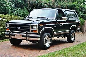 1984 Ford Bronco XLT 4X4 52K Miles Original Documents A/C Cruise Classic SUV!!! for sale in ...