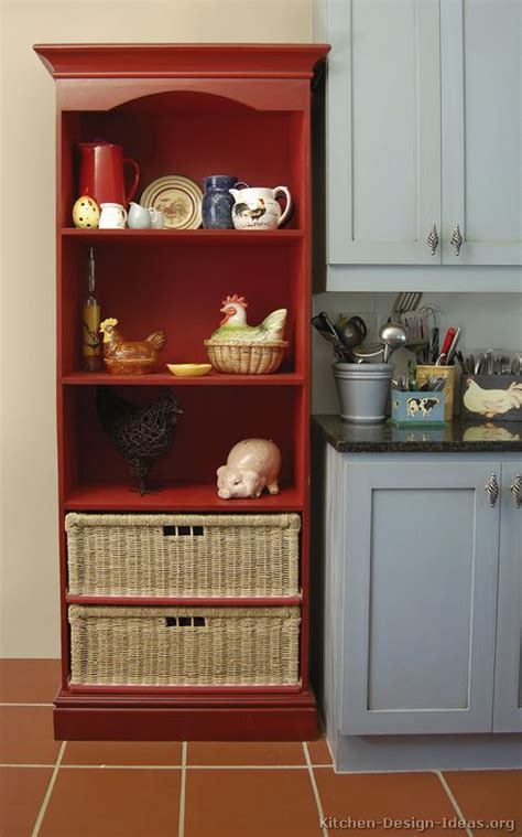 perfect red country kitchen cabinet design ideas for country kitchen design pictures and decorating ideas