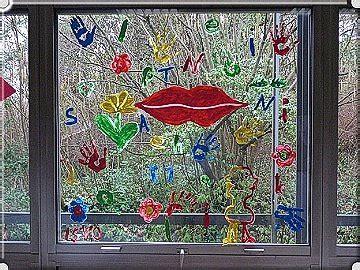 Fingerfarbe Fenster by Fenster Bemalen Fenster Bemalen Kerstins Sammelsurium