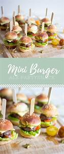 Snacks Für Silvester : der perfekte party snack mini burger rezepte trytrytry in 2019 fingerfood snacks f r ~ Frokenaadalensverden.com Haus und Dekorationen