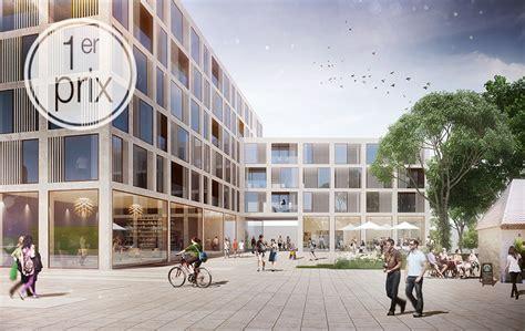 bureau d etude architectes projet lauréat au concours grand