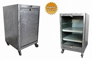 Petit Casier Metal : caisson de bureau en fer ~ Teatrodelosmanantiales.com Idées de Décoration