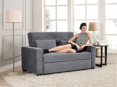 Loveseat Images by Augustine Loveseat Size Sleeper Moon Grey By Serta