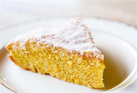 orange cornmeal cake recipe simplyrecipescom