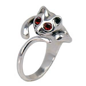 cat ring sterling silver cat ring flickr photo