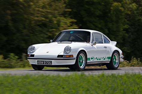 Porche 911 Rs by Autofarm Makes A New 1972 Porsche 911 Rs From A 1987