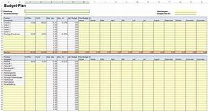 Excel Stunden Berechnen Vorlage : vorlage f r budgetplan nderungsantrag und auswertung ~ Themetempest.com Abrechnung
