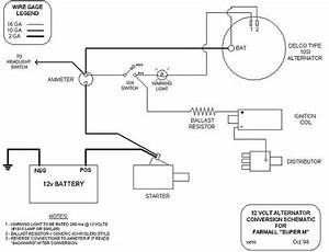Allis Chalmers B Wiring Diagram