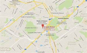 Where is Acropolis Museum on map Athens | World Easy Guides