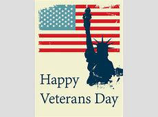 Happy Veterans Day Card Birthday & Greeting Cards by Davia