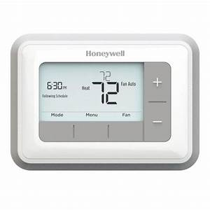 Honeywell Thermostat Manual Pdf  With Images