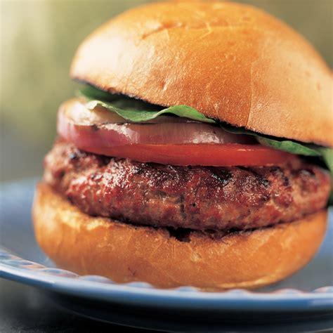 grilled hamburger recipes gas grilled hamburgers recipe america s test kitchen