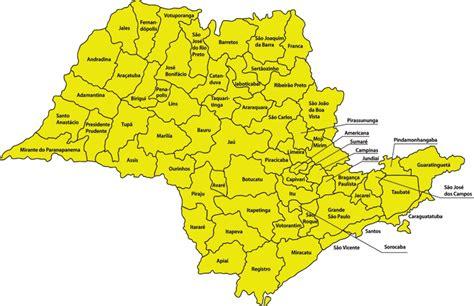 Mapa Do Interior De São Paulo Mapa De São Paulo São