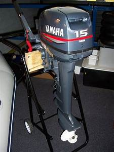 New Yamaha 2 Two Stroke 15 Fmhl S Hp Outboard Boat Motor