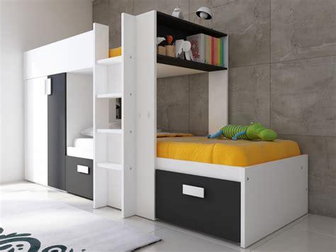 conforama bureau blanc lits superposés julien pas cher lit enfant vente unique